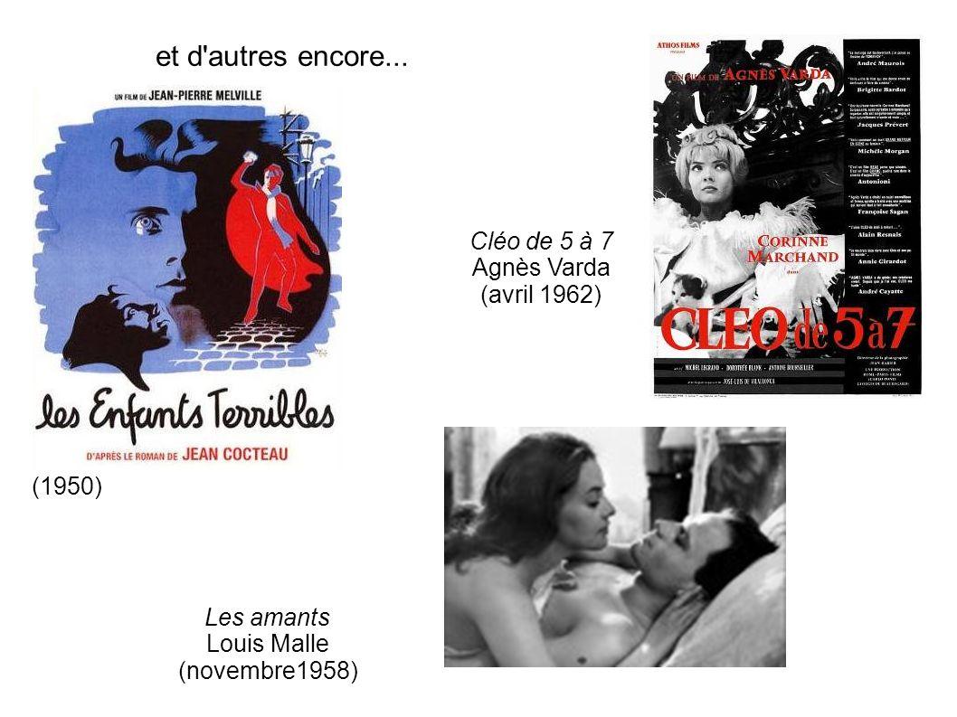 et d autres encore... Cléo de 5 à 7 Agnès Varda (avril 1962) (1950)