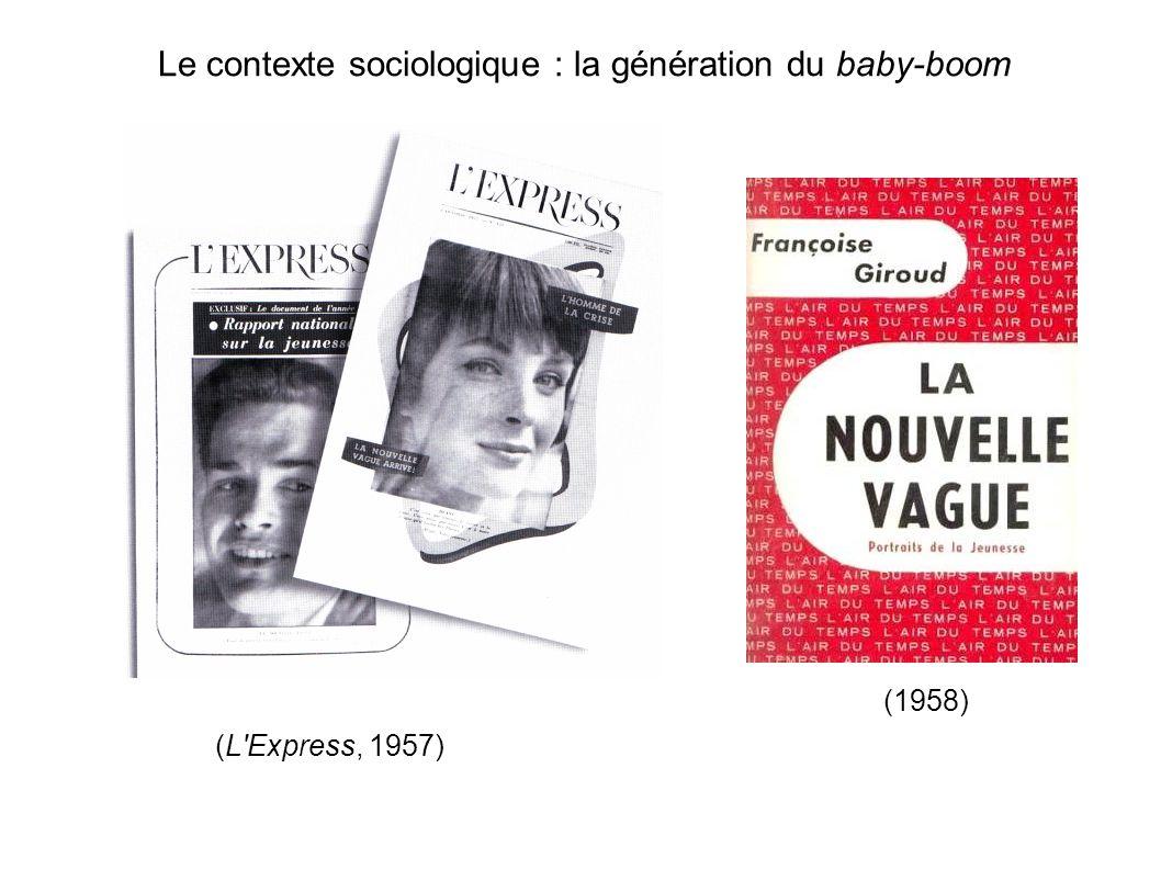 Le contexte sociologique : la génération du baby-boom