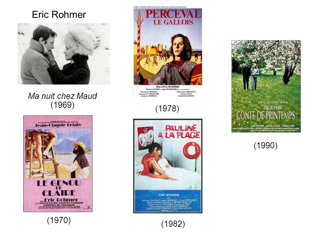 Eric Rohmer Ma nuit chez Maud (1969) (1978) (1990) (1970) (1982)