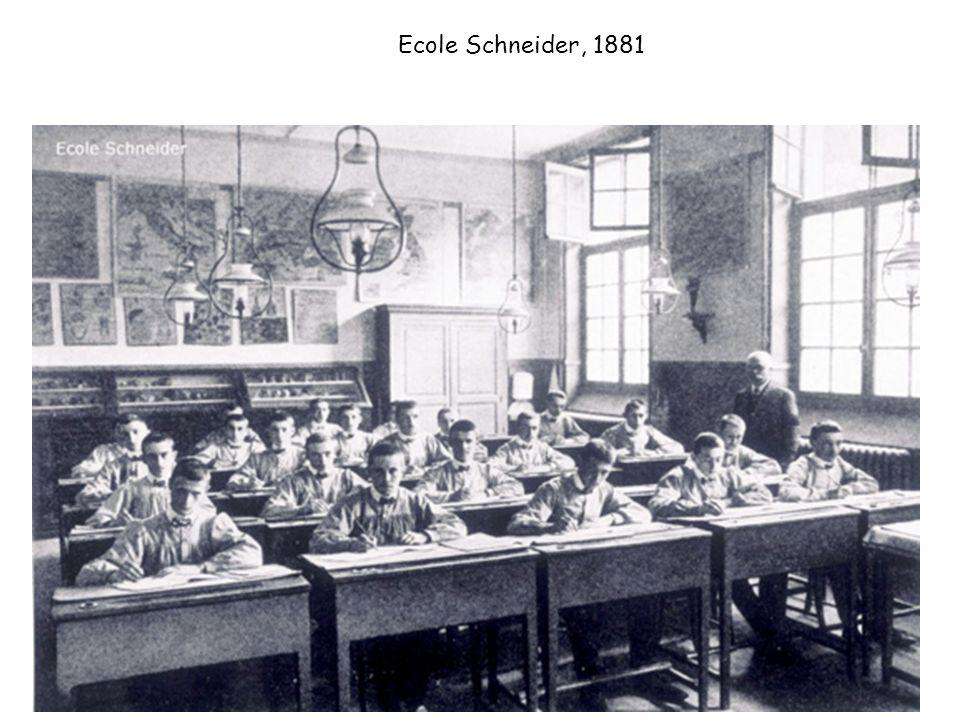 Ecole Schneider, 1881 14