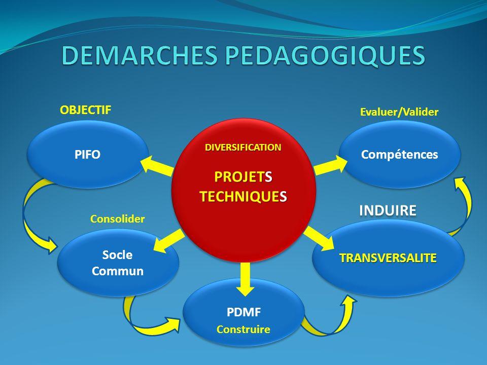 DEMARCHES PEDAGOGIQUES