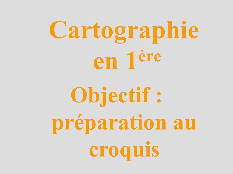 Objectif : préparation au croquis