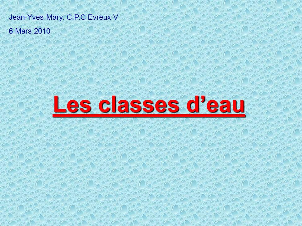 Jean-Yves Mary. C.P.C Evreux V