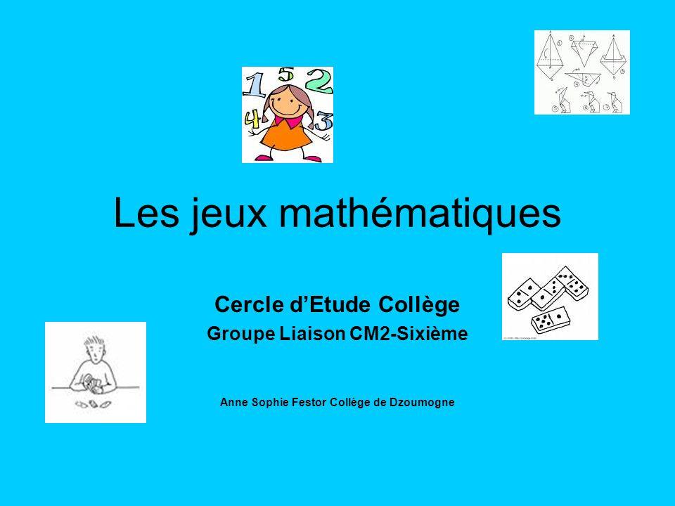 Les jeux mathématiques