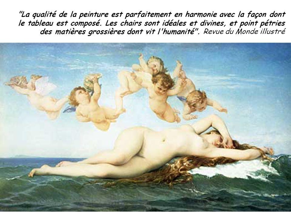 La qualité de la peinture est parfaitement en harmonie avec la façon dont le tableau est composé.