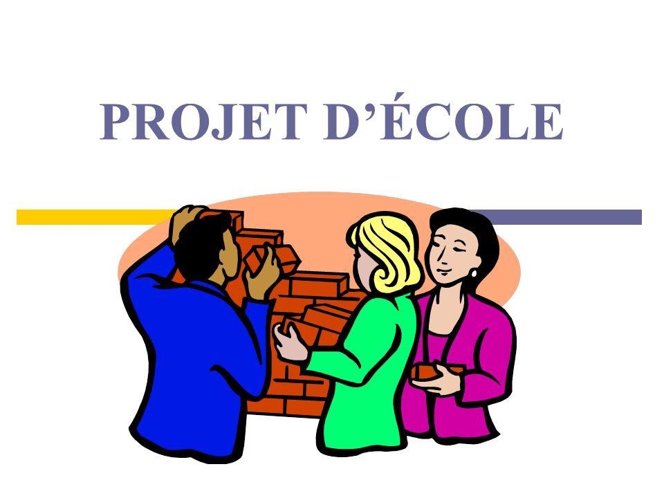 PROJET D'ÉCOLE
