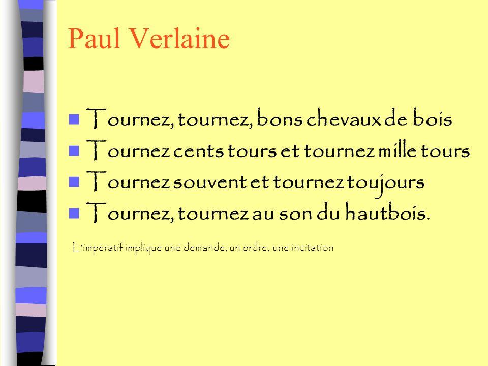 Paul Verlaine Tournez, tournez, bons chevaux de bois