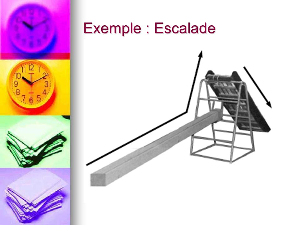 Exemple : Escalade