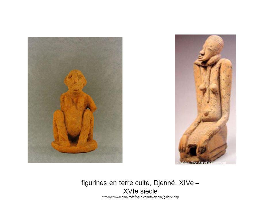 figurines en terre cuite, Djenné, XIVe – XVIe siècle