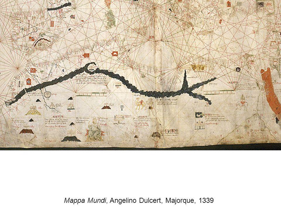 Mappa Mundi, Angelino Dulcert, Majorque, 1339