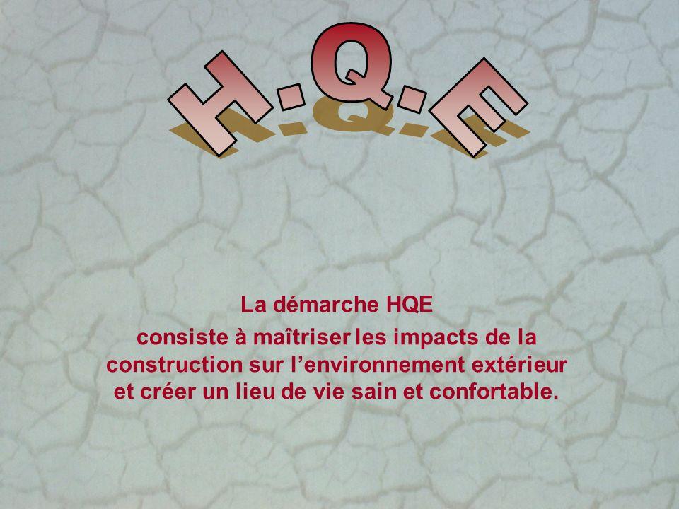 H.Q.E La démarche HQE.