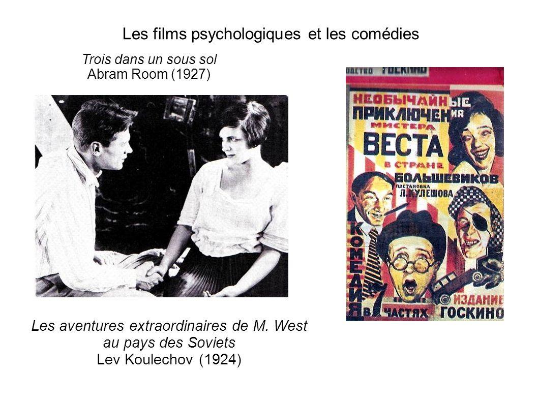 Les films psychologiques et les comédies