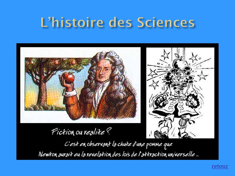 L'histoire des Sciences
