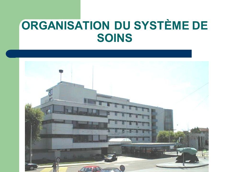 ORGANISATION DU SYSTÈME DE SOINS