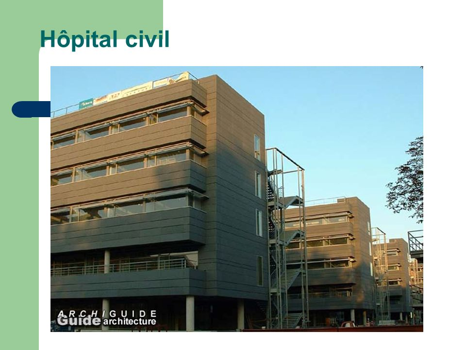 Hôpital civil