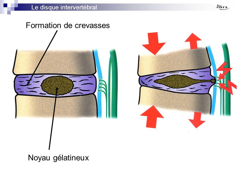 Formation de crevasses
