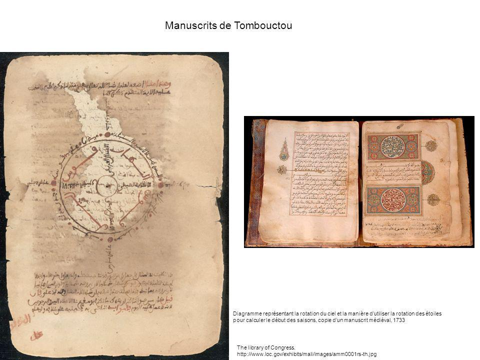 Manuscrits de Tombouctou