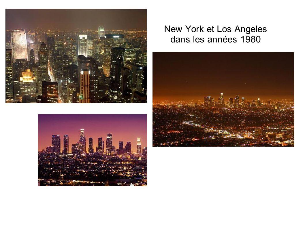 New York et Los Angeles dans les années 1980
