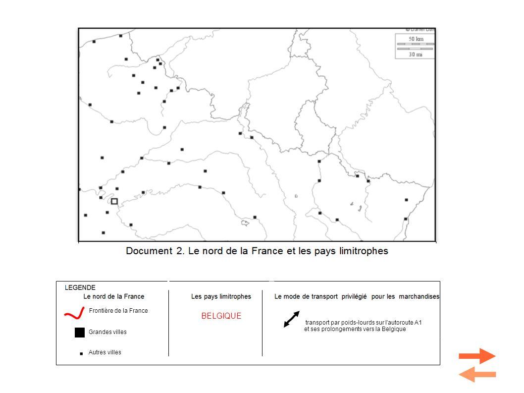 Le professeur en profite pour rajouter les principales villes de l espace représenté qu il est toujours utile de connaître: Amiens, Metz, Nancy, Strasbourg.
