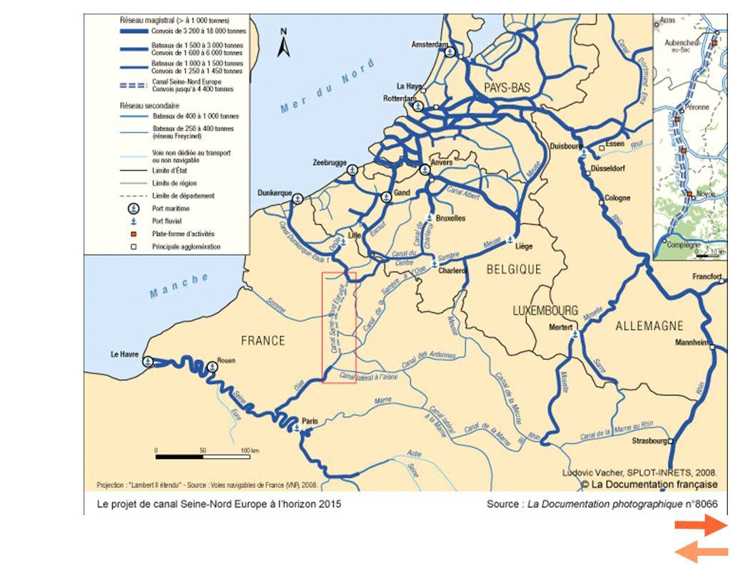 Quelle autre voie de communication pour relier Paris et le Nord