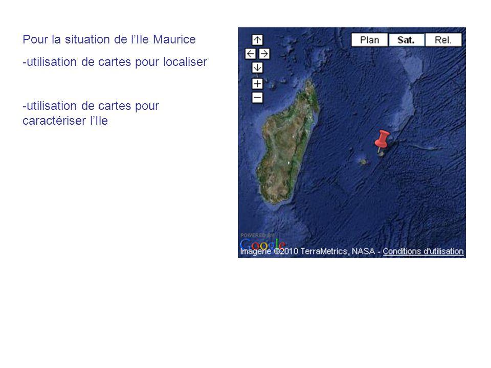 Pour la situation de l'Ile Maurice