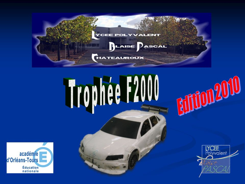 Trophée F2000 Edition 2010
