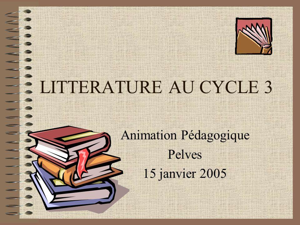 Animation Pédagogique Pelves 15 janvier 2005