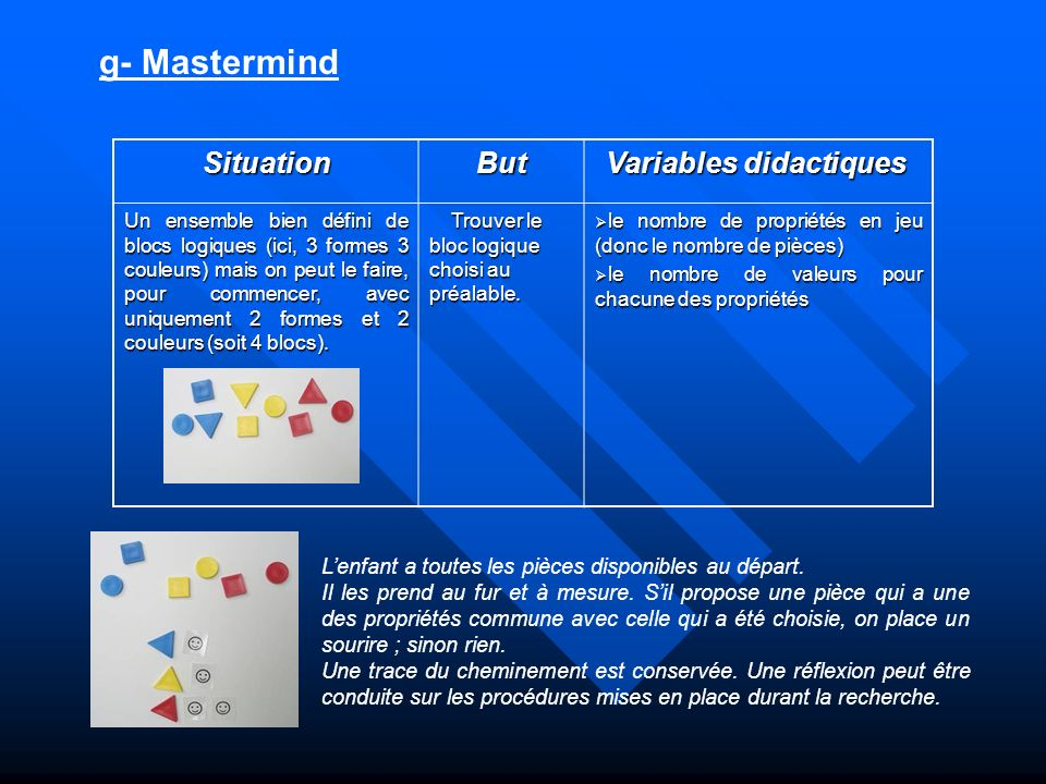 Variables didactiques
