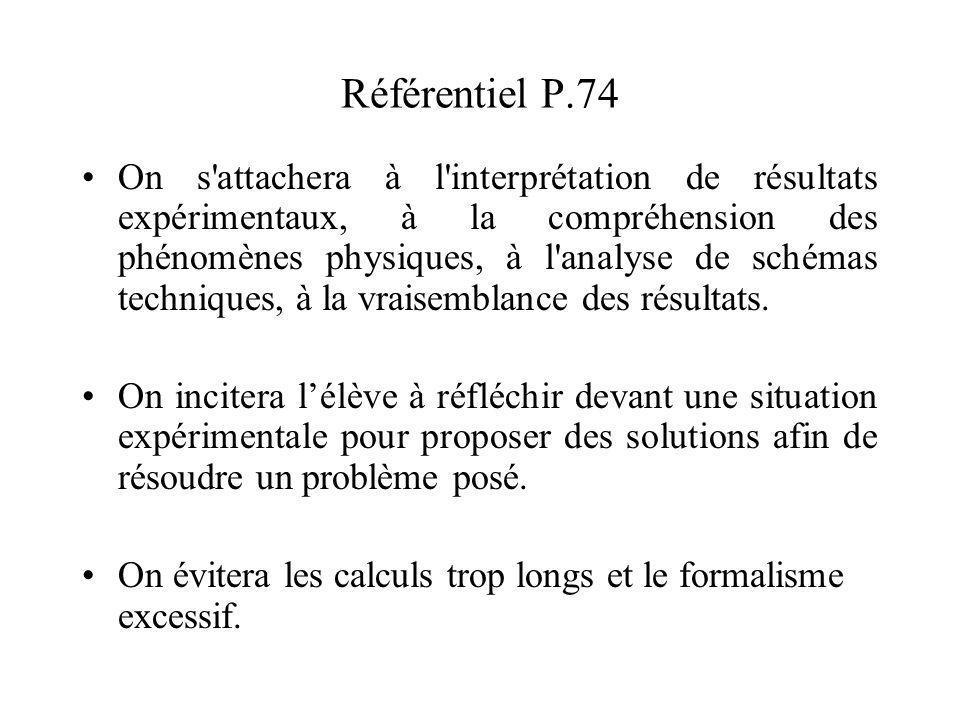 Référentiel P.74
