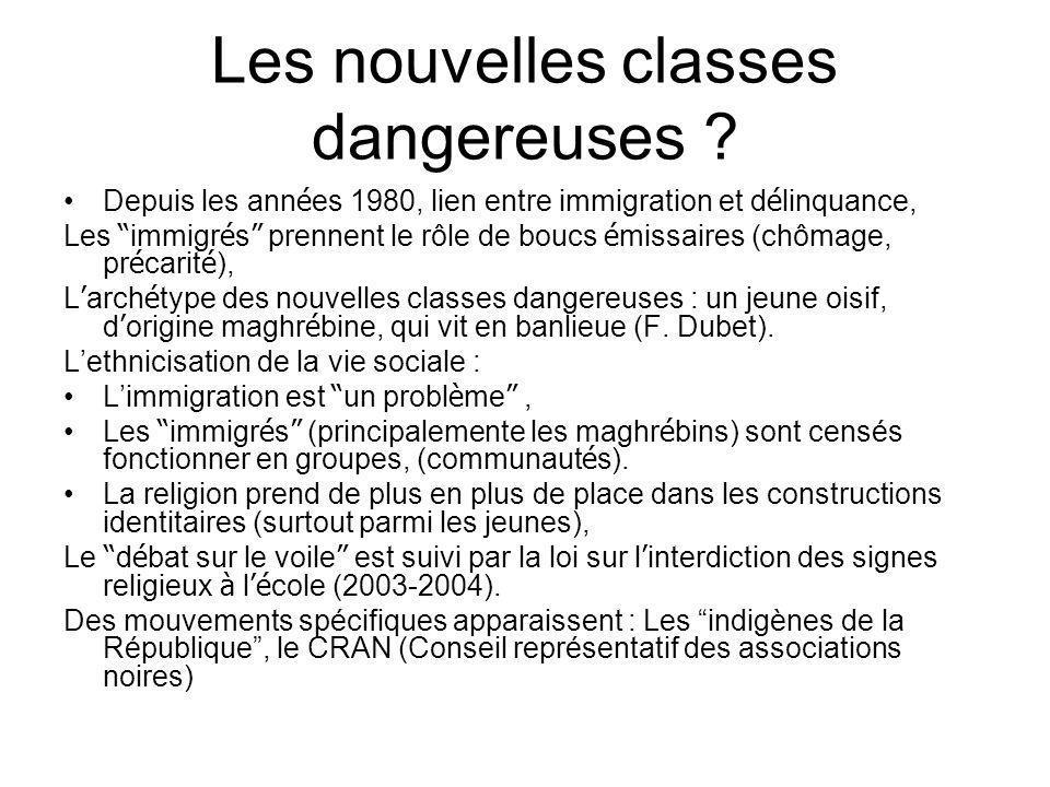 Les nouvelles classes dangereuses