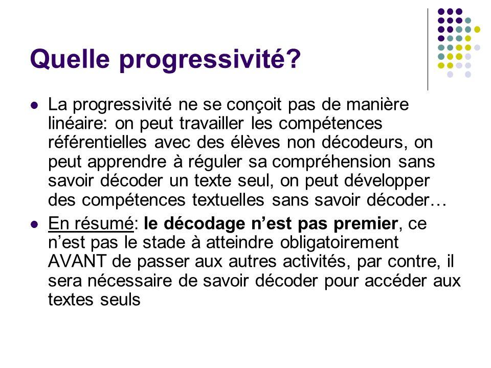 Quelle progressivité