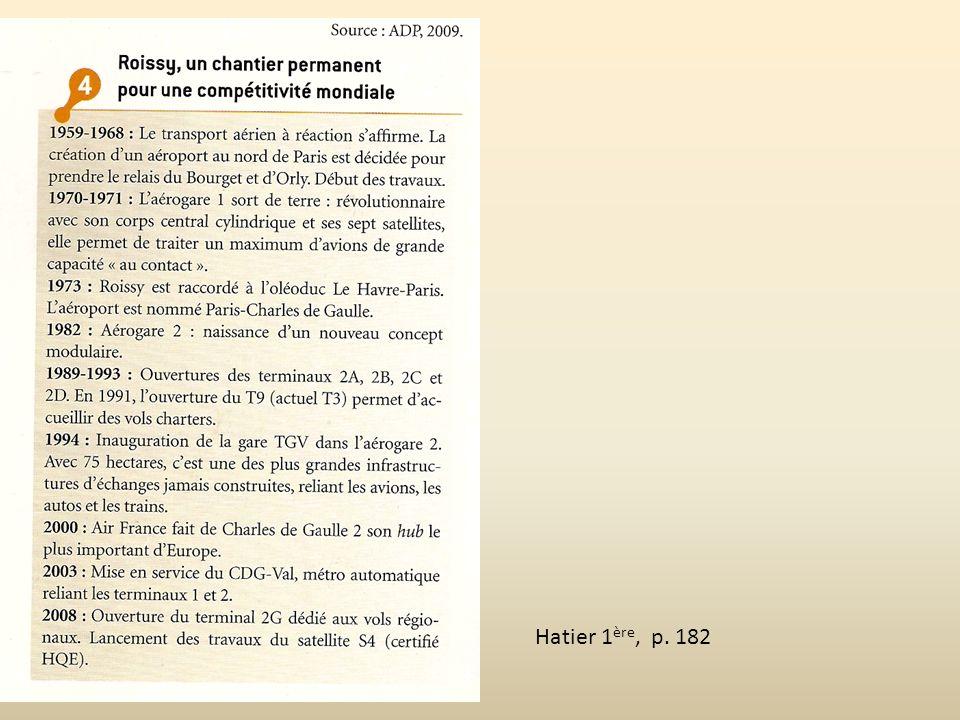 Hatier 1ère, p. 182