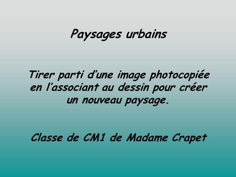 Classe de CM1 de Madame Crapet