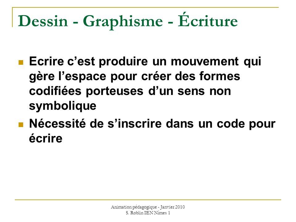 Dessin - Graphisme - Écriture