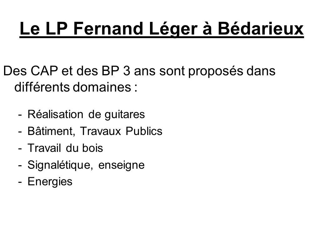 Le LP Fernand Léger à Bédarieux