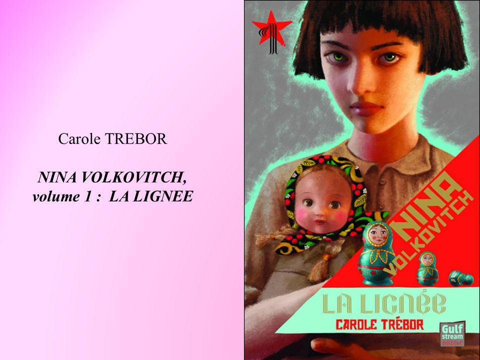 Carole TREBOR NINA VOLKOVITCH,