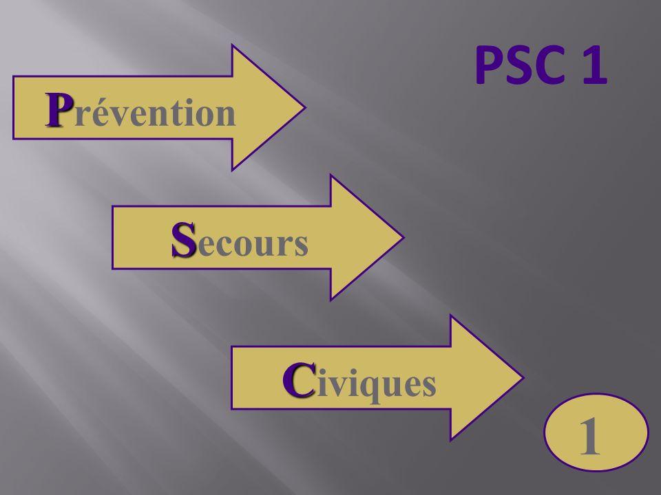 PSC 1 Prévention Secours Civiques 1