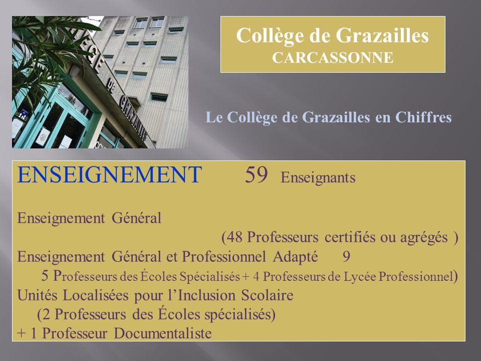 ENSEIGNEMENT 59 Enseignants