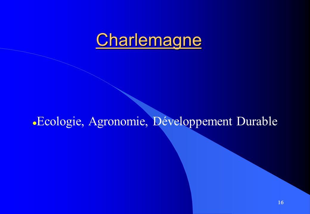 Après la 3èmeAprès la 3ème Ecologie, Agronomie, Développement Durable