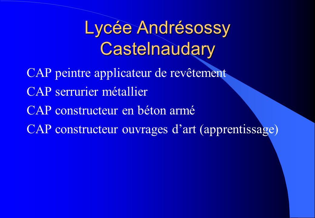 Lycée Andrésossy Castelnaudary