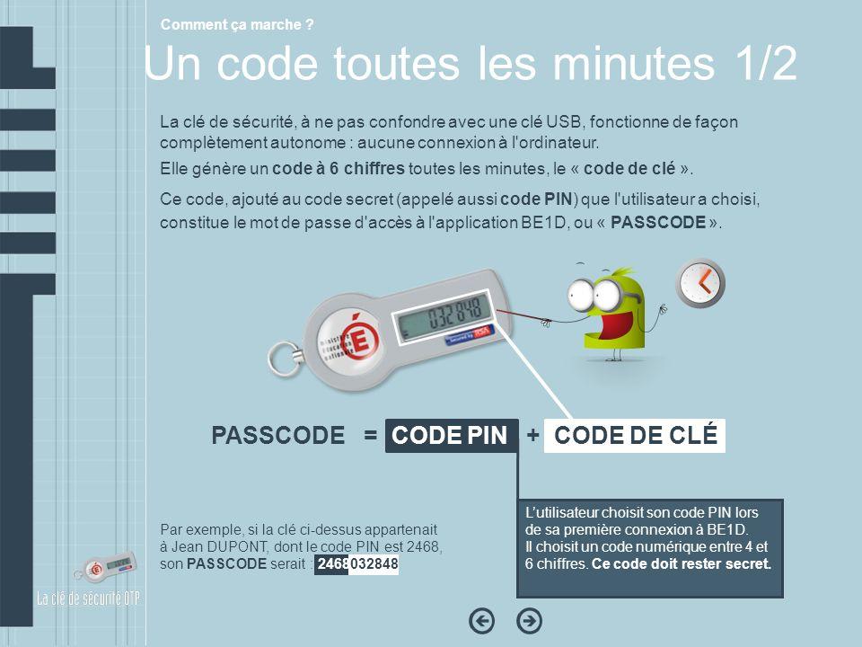 Un code toutes les minutes 1/2