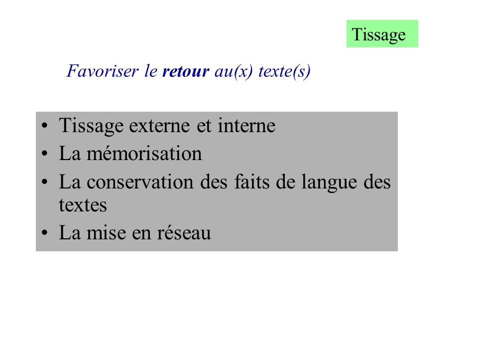 Favoriser le retour au(x) texte(s)