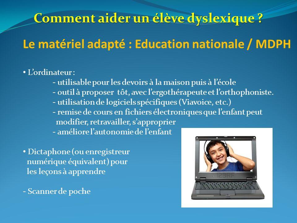 Comment aider un élève dyslexique
