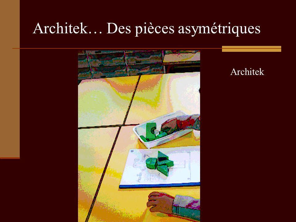 Architek… Des pièces asymétriques
