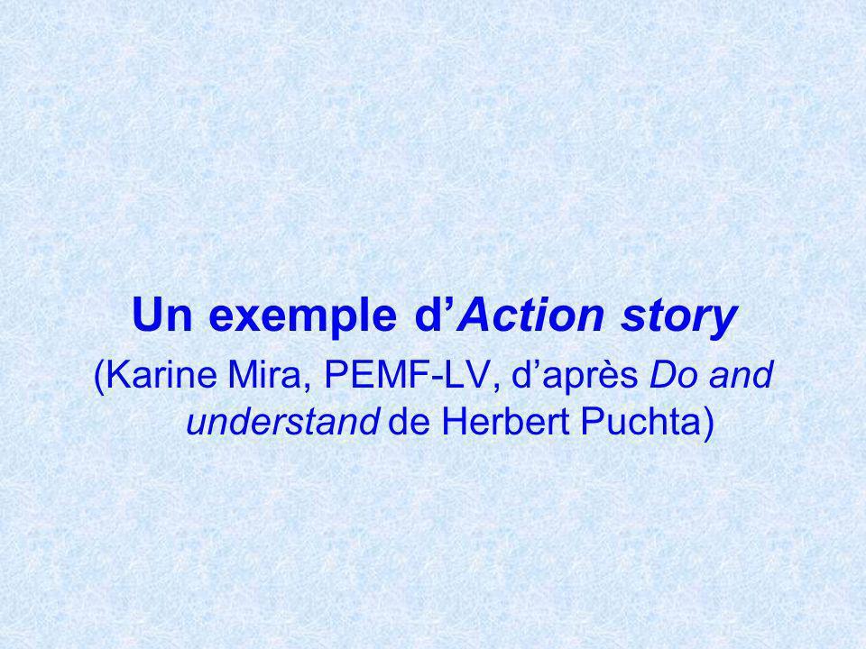 Un exemple d'Action story