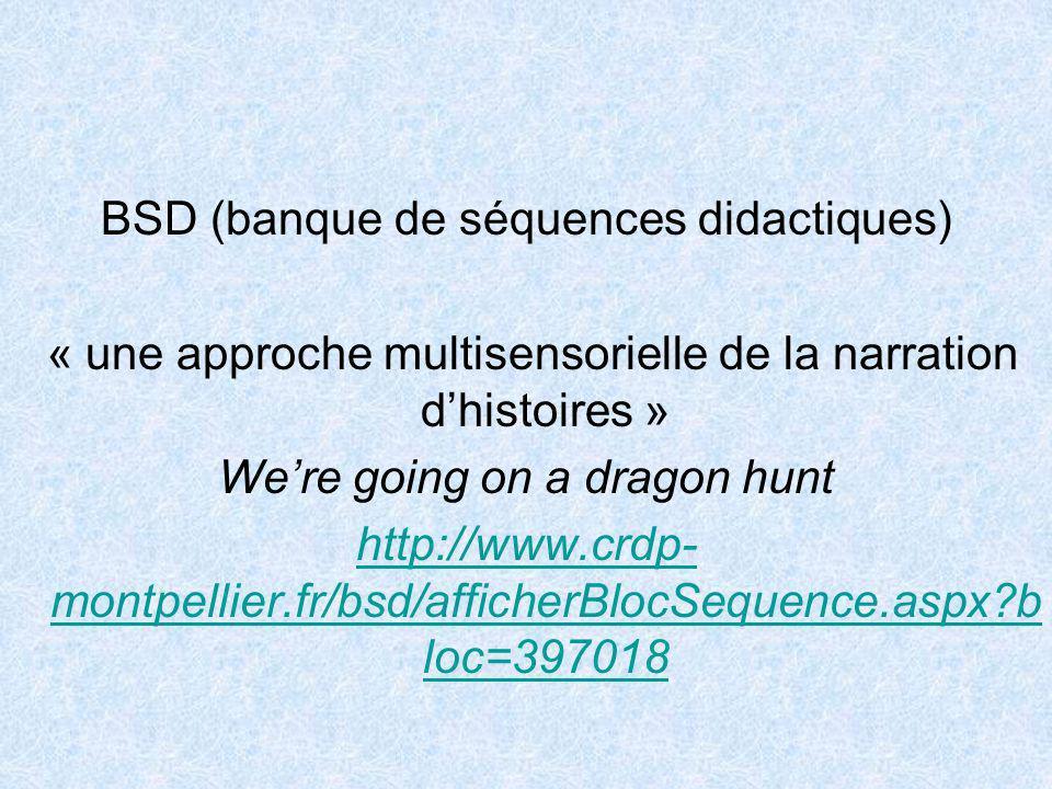 BSD (banque de séquences didactiques)
