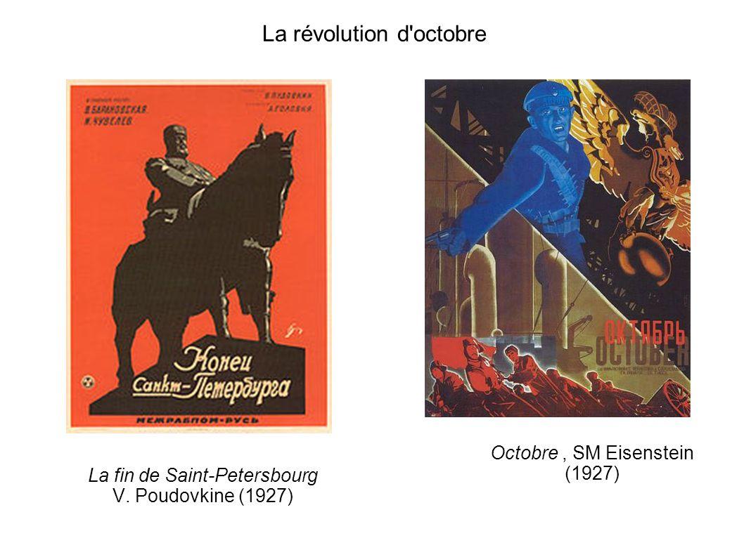 La révolution d octobre