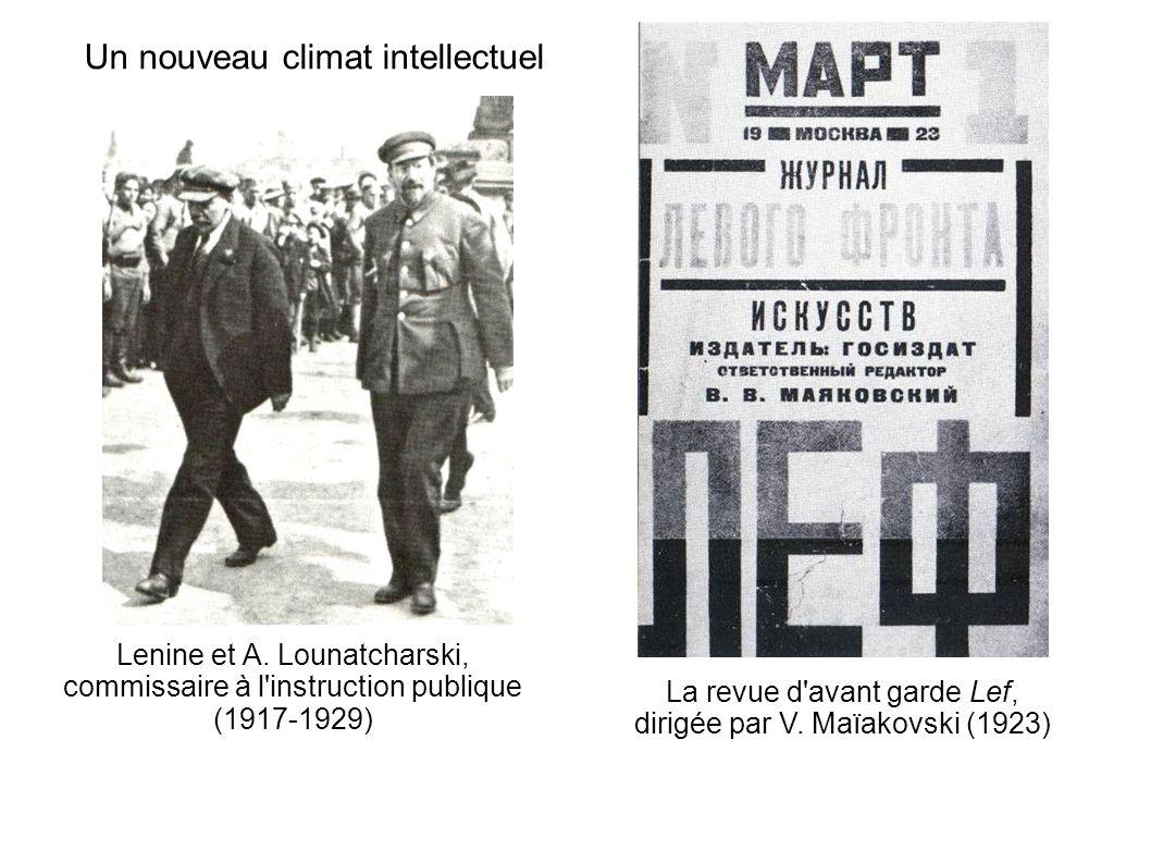 Un nouveau climat intellectuel