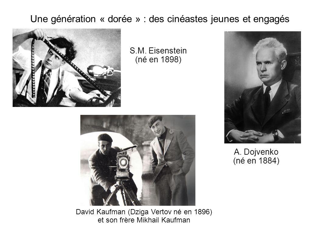 Une génération « dorée » : des cinéastes jeunes et engagés