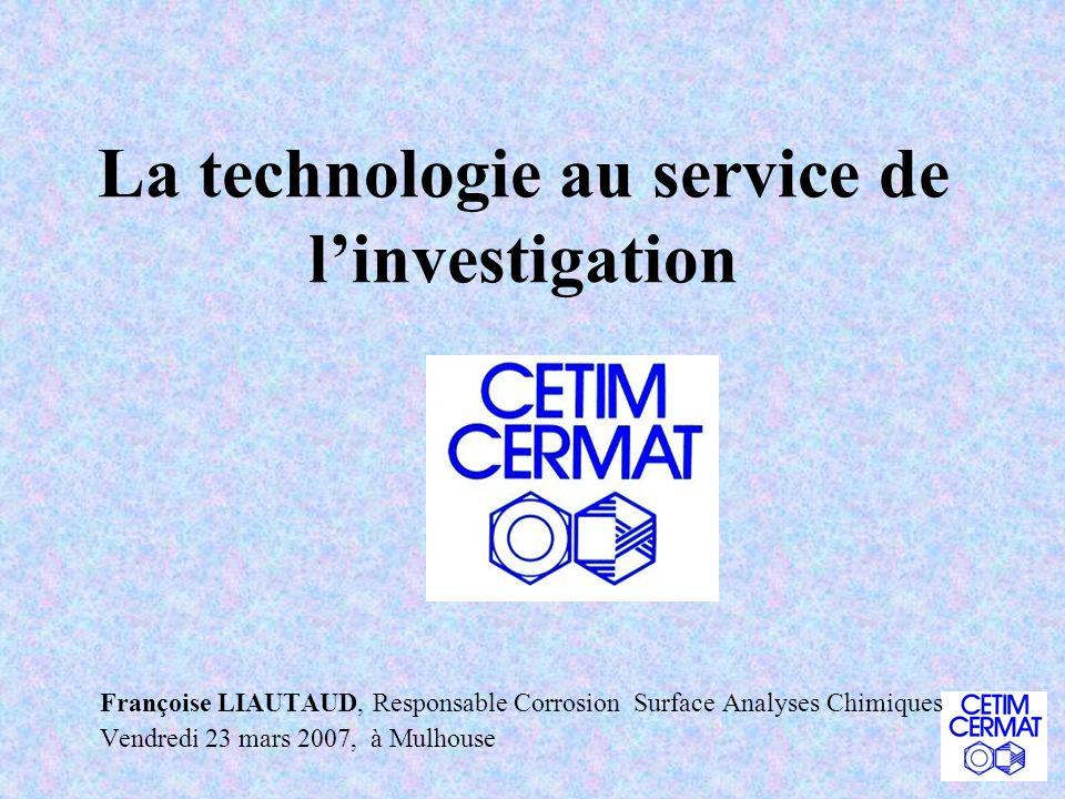 La technologie au service de l'investigation